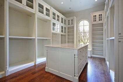 Traditional Closet by Nortex Custom Hardwood Floors