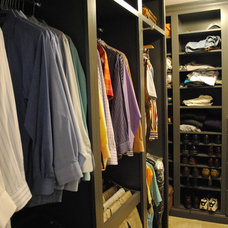 Contemporary Closet by Karen Viscito Interiors
