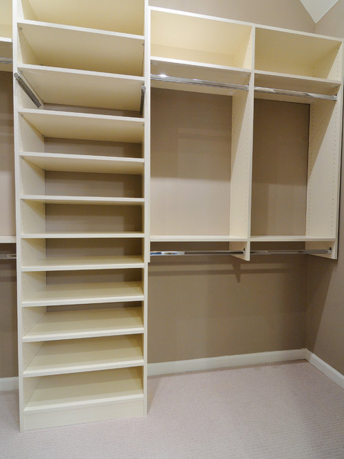 Melamine Closet Home Design Ideas Pictures Remodel And Decor