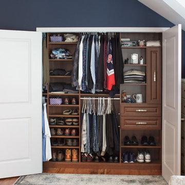 Men's Reach In Closet