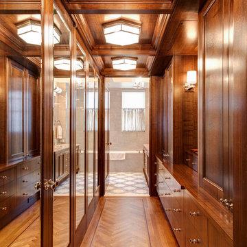 Men's Wood Closet