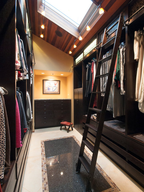 Closet Sloped Ceiling Home Design Ideas Pictures Remodel