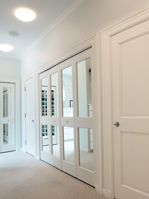 Mirrored Bifold Doors Ideas Pictures Remodel And Decor