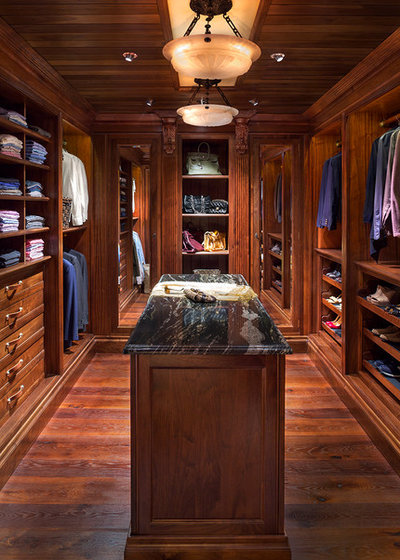 Traditional Closet by Greenauer Design Group