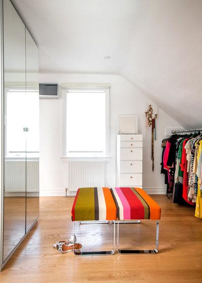 Contemporary Closet by Stephani Buchman Photography