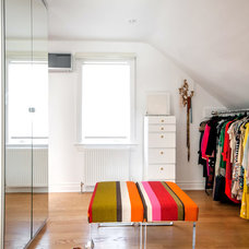 Contemporary Closet by Stephani Buchman Photography