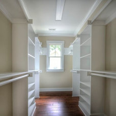Craftsman Closet by J. R. Huntley Homes