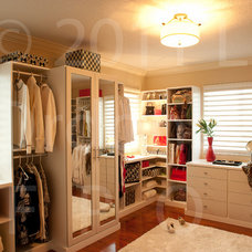 Traditional Closet by California Closets Miami