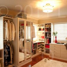 Traditional Closet by California Closets Miami