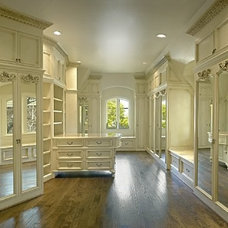 Traditional Closet by MICHAEL MOLTHAN LUXURY HOMES