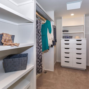 Design ideas for a midcentury storage and wardrobe in Los Angeles.