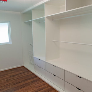 Inspiration for a midcentury storage and wardrobe in Dallas.