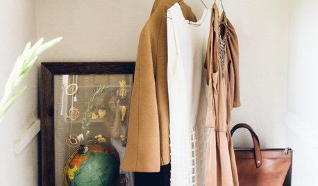 6 ideas para organizar un armario pequeño que cambiarán tu vida