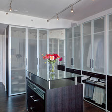 Contemporary Closet by MB Jessee
