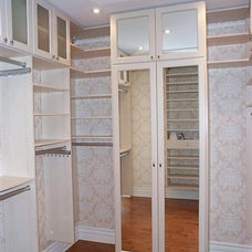 Traditional Closet by Organize A-Z