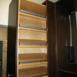 Miscellaneous - Hide away shoe storage cabinet.