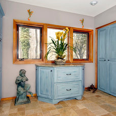 Traditional Closet by CWP Cabinetry