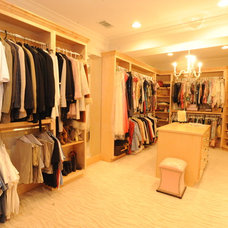 Traditional Closet by Webber Coleman Woodworks
