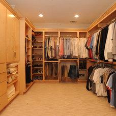 Closet by Webber Coleman Woodworks