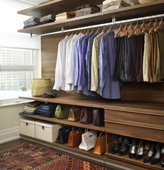 modern closet by Croma Design Inc