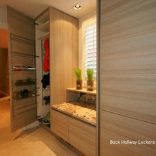 Modern Closet by Guthmann Construction