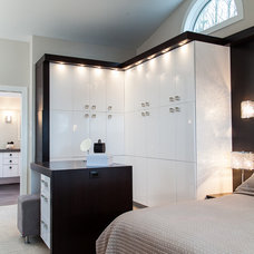 Modern Closet by Kitchen Craft Cabinetry Vancouver