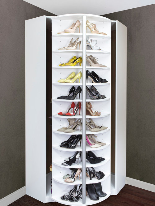 Spinning Shoe Rack | Houzz