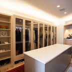 Paradise Valley Custom Home Build - Modern - Closet - Phoenix - by Carmel Homes Design Group