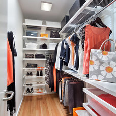 Traditional Closet by Anthony Wilder Design/Build, Inc.