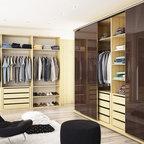 Master Closet Modern Closet Minneapolis By