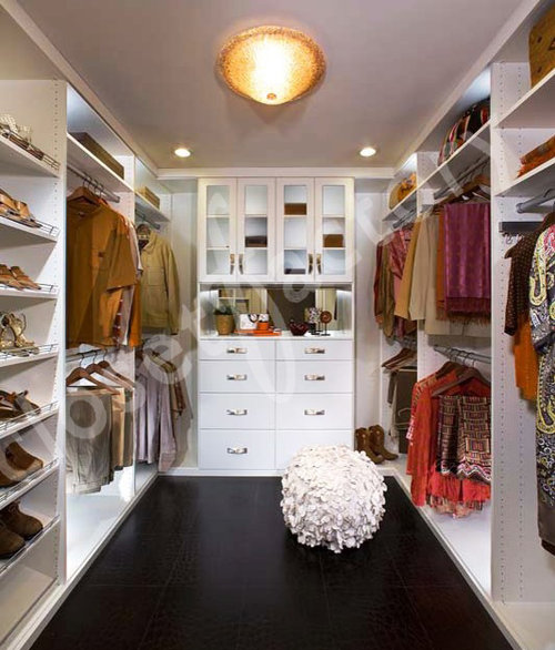 7 Basement Ideas On A Budget Chic Convenience For The Home: White Walk In Closet Home Design Ideas, Pictures, Remodel