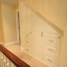 Traditional Closet by Spaces Into Places Inc.