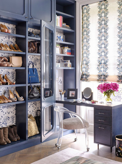 Transitional Wardrobe by DHD Architecture and Interior Design