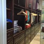 Dressing Room Shoe Closet Traditional Closet New