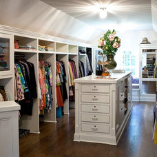 Traditional Closet by Kurnat Woodworking LLC