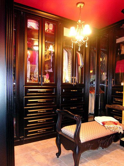 Traditional Closet by Suzy Pierce