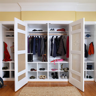 Inspiration for an eclectic closet remodel in DC Metro