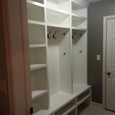 Traditional Closet mudroom ideas