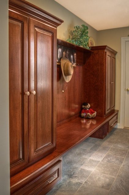 Traditional Closet by Mitchell Construction Group
