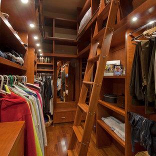 Aménagement d'un dressing et rangement craftsman.