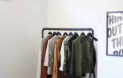 No Built-In Wardrobe? Here's What You Can Do