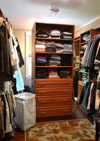 Traditional Closet by Colleen Brett