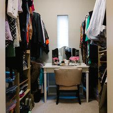Transitional Closet by Nanette Wong