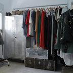 Dressing en acier brut verni industriel armoire et dressing other metro - Dressing style industriel ...