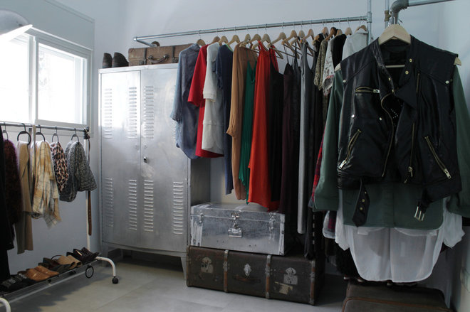 Industrial Closet by Esther Hershcovich