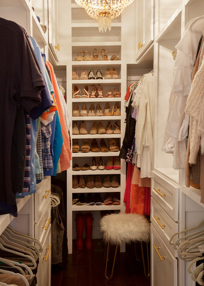 Traditional Closet by Margaret Wright Photography