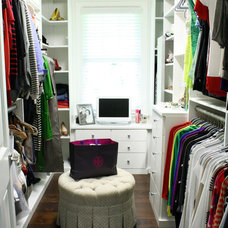 Transitional Closet by Mina Brinkey