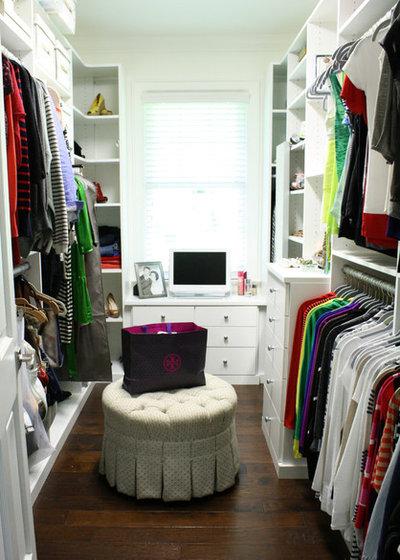 Transitional Closet by Mina Brinkey