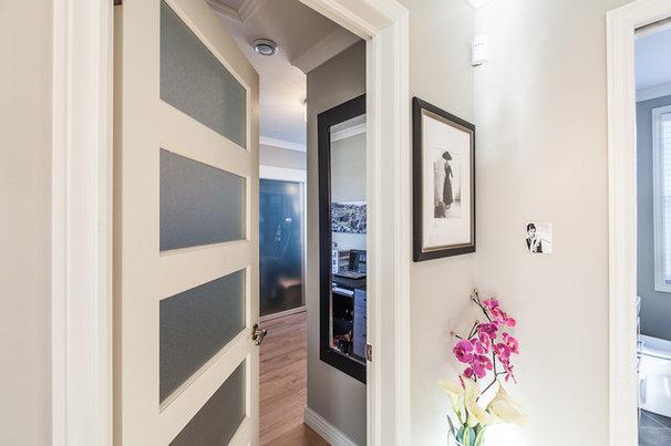 Contemporary Closet by Becki Peckham