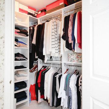 N. Jersey Corner Closet